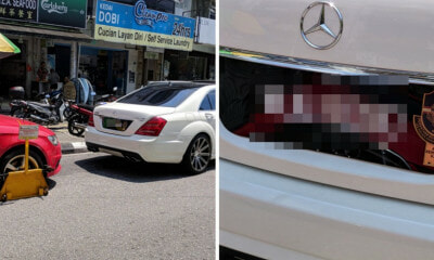 Malaysian VIP and Civilian Park Illegally, Only Civilian's Car Gets Clamped - WORLD OF BUZZ 6