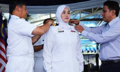 Malaysia's Royal Navy Force Just Promoted The First Ever Female Captain in History - WORLD OF BUZZ 3