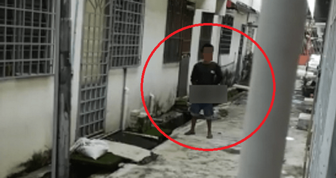 M'sian Encounters Pervert Masturbating At Back Of Her House Who Refuses To Leave - World Of Buzz 5