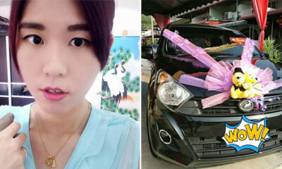 M'sian Lady Shares Why She Uses Husband's Axia For Wedding Instead of Renting a Fancy Car - WORLD OF BUZZ