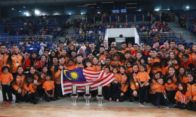 Team Malaysia Just Won 3 Gold Medals in International Dodgeball Competition! - WORLD OF BUZZ 6