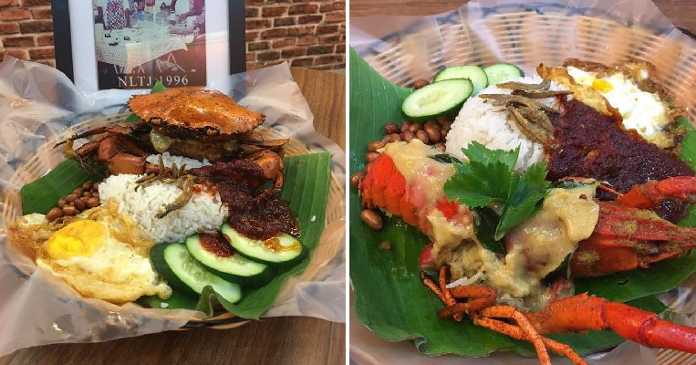 This M'sian Restaurant Offers Yummy Nasi Lemak Lobster & Crab Starting from RM20! - WORLD OF BUZZ 7