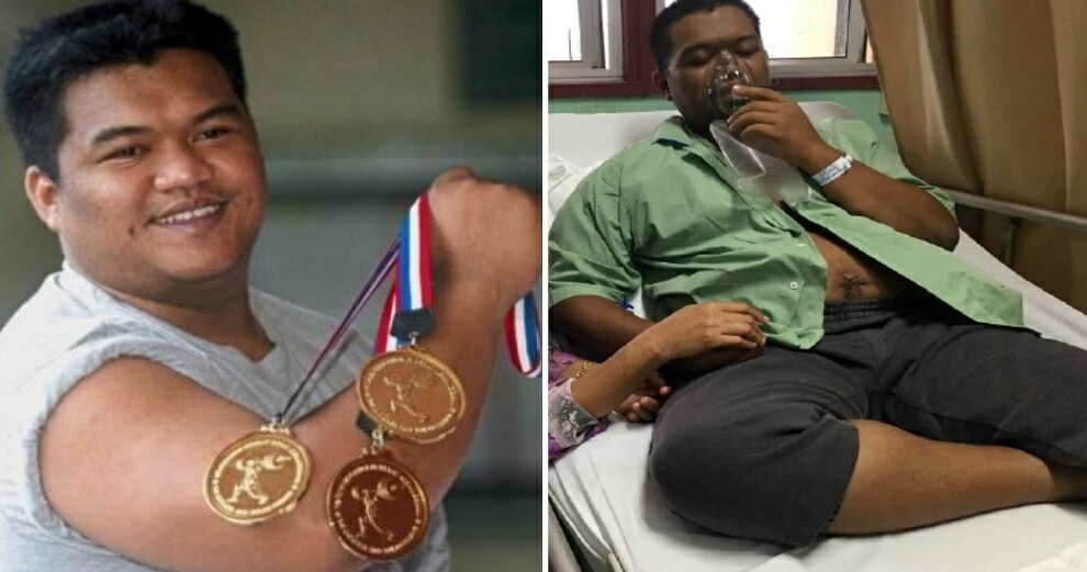 This M'sian Sea Games Gold Medalist Struggles With Health Problems, Can't Afford Medical Bills - World Of Buzz 2