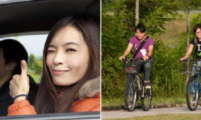 UTAR Student Fell In Love After Crashing Her Car into Guy's Bike - WORLD OF BUZZ 4