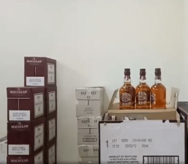 1,942 Boxes of Fake Alcohol Using Used Bottles from Famous Brands Seized at Kajang House - WORLD OF BUZZ 4