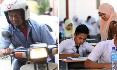 34-Year-Old Malaysian with Cerebral Palsy Sat For SPM Yesterday - WORLD OF BUZZ 2