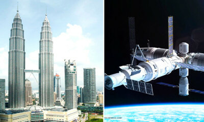 China's Space Station is Crashing Down to Earth, KL Listed Among Potential Crash Zone - WORLD OF BUZZ 2