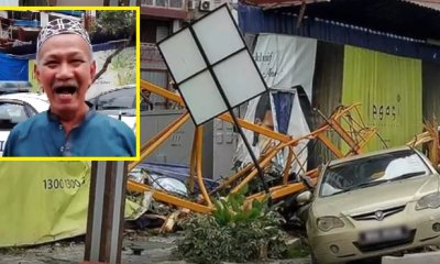 Construction Crane Suddenly Collapses in Kampung Baru and Leaves 3 People Injured - WORLD OF BUZZ