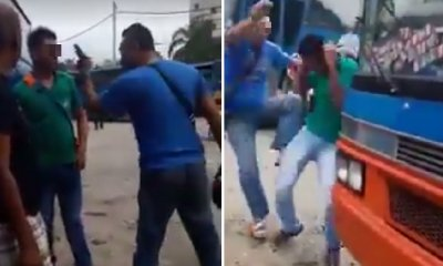 Foreign Workers Get Beaten Up by Rude M'sian Bus Driver for Complaining About Bus Ride - WORLD OF BUZZ 3