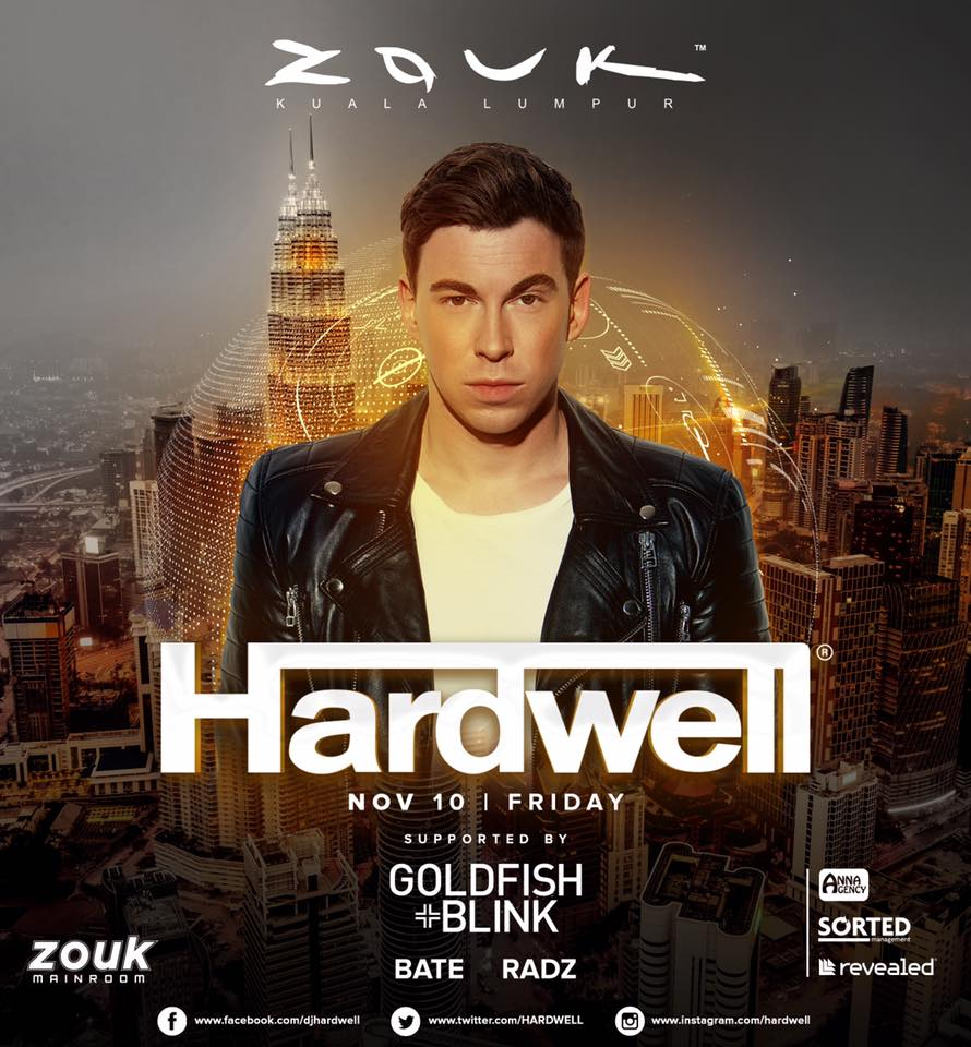 Hardwell Cancels Highly Anticipated Zouk KL Show After Getting Pneumonia - WORLD OF BUZZ 2