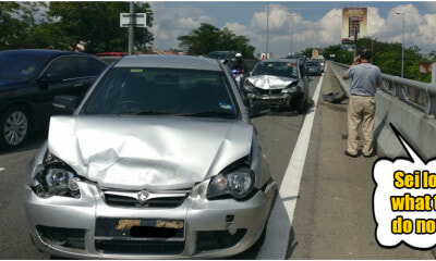 Here's What You Need to Do If You Ever Get Into a Car Accident in Malaysia - WORLD OF BUZZ 4