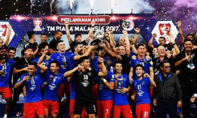 Johor's Football Team Is Donating Malaysia Cup Prize Money to Help Penang Flood Victims - WORLD OF BUZZ 5