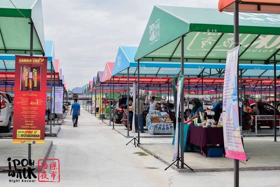 Largest Pasar Malam in Ipoh with Over 1,000 Stalls Set to Open in December! - WORLD OF BUZZ
