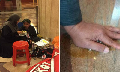 Man Superglues Hand To Floor At Caltex Malaysia Headquarters After Getting Fired - World Of Buzz 4