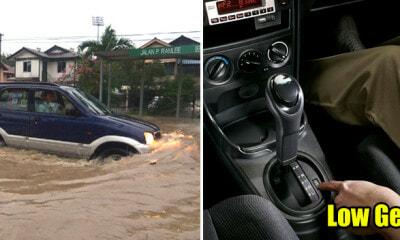 M'sian Mechanic Shares How to Minimise Car Damage While Wading Through Flood - WORLD OF BUZZ