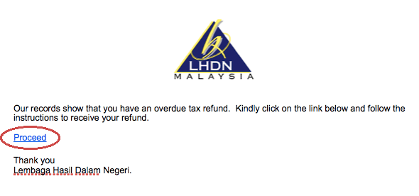 """M'sian's Bank Account Gets Wiped Out After Clicking into E-mail From """"Government"""" - WORLD OF BUZZ 5"""
