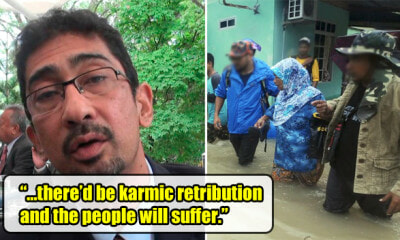 Penang Ravaged by Flood Due to Karma For Organising Festival, Padang Besar MP Says - WORLD OF BUZZ