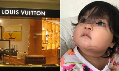 Singer to Sue LV Store in Gardens Mall for Causing 2nd Degree Burns on Baby - WORLD OF BUZZ 1