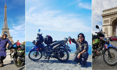 This Badass Biker Travelled Halfway Around the World From Vietnam to Paris in 150 Days! - WORLD OF BUZZ 1
