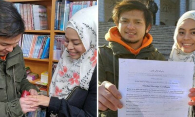 This Malaysian Couple Had a Simple 4-Minute Wedding at a Bookshop in South Korea - WORLD OF BUZZ 1