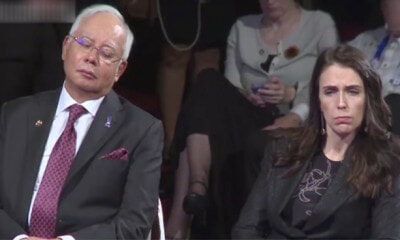 Viral Footage Caught Najib Unexpectedly Dozes Off During ASEAN Summit in Manila - WORLD OF BUZZ
