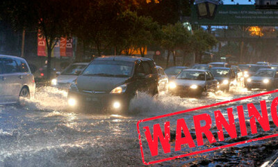 Warning: Thunderstorms and Heavy Rain Expected in KL, Selangor and Other Areas - WORLD OF BUZZ