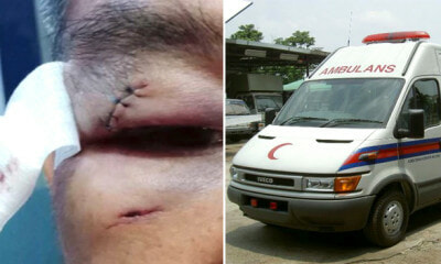 Ambulance Driver and Nurse Get Beaten Up After Asking Mat Rempitto Give Way - WORLD OF BUZZ