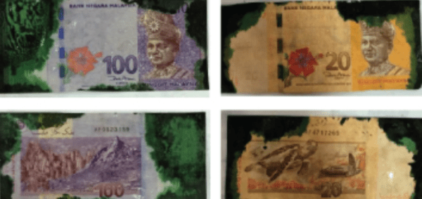 BSN Explains Why Malaysians Should Never Accept Ink-Stained Banknotes - WORLD OF BUZZ 1