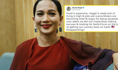 Dato' Sheila Majid Sparks Debate Among M'sians After Pointing Out Rising Cost of Living - WORLD OF BUZZ 10