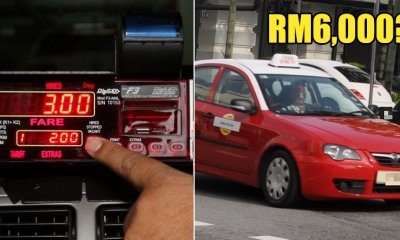 Dishonest Taxi Driver Threatens Passenger with Knife to Pay RM6,000 for 7KM Ride - WORLD OF BUZZ 4