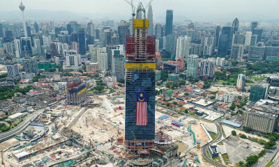 KL's Newest Skyscraper Will Reportedly Be Taller Than The Petronas Twin Towers! - WORLD OF BUZZ 3
