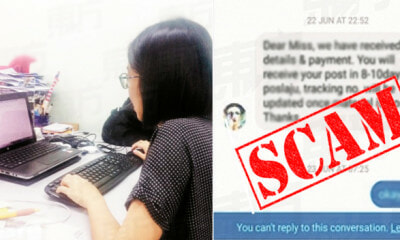 M'sian Student Shares How She Applied for Typing Job Through FB and Got Scammed - WORLD OF BUZZ