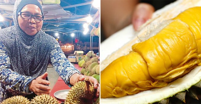 M'sians Can Buy Musang King Durian for as Low as RM30 Per Kg at this Stall in Sentul - WORLD OF BUZZ