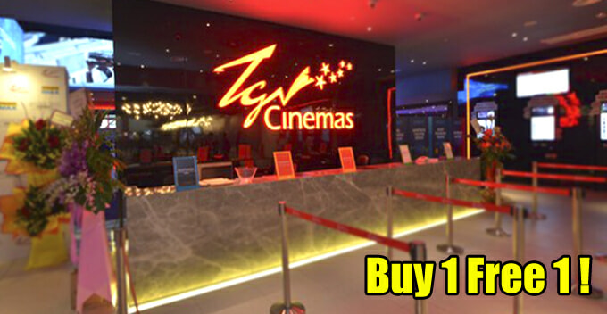 M'sians Can Enjoy 'Buy 1 Free 1' Promotion at TGV Cinemas, Here's How to Redeem - WORLD OF BUZZ