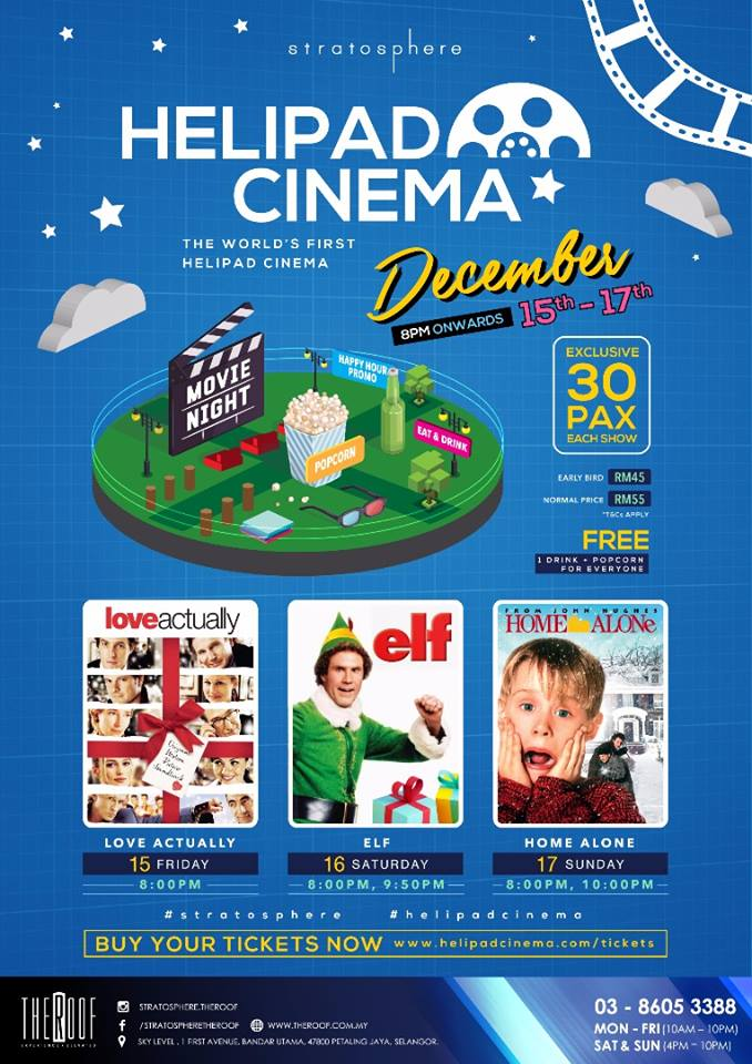 M'sians Can Watch Classic Christmas Movies Under The Stars This December! - WORLD OF BUZZ