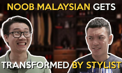 Noob Malaysian Gets Transformed by Stylist - WORLD OF BUZZ