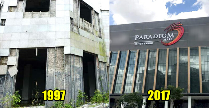 Paradigm Mall JB Used to be a Ghost Town That Was Abandoned 20 Years Ago - WORLD OF BUZZ