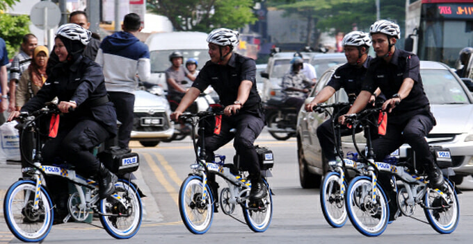 Penang Cops Will Soon be Patrolling Tourism Hotspots in These Cool Electrical Bicycles - WORLD OF BUZZ