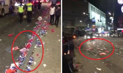 Rubbish-Filled Street After Christmas Countdown in KL Shows Ugly Side of M'sians - WORLD OF BUZZ 3