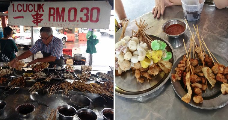 This Penang Uncle Has Been Selling 30 Sens Lok Lok For More Than 20 Years! - World Of Buzz 6