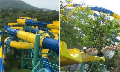 This Theme Park in Penang is Building The World's Longest Water Slide! - WORLD OF BUZZ 3