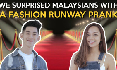 We Surprise Malaysians with a Fashion Runway Prank - WORLD OF BUZZ 1