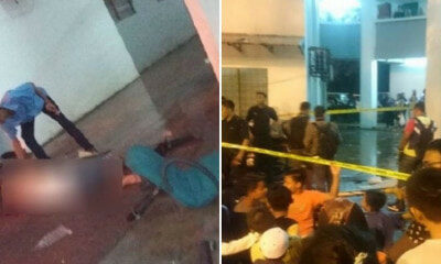 15yo Tragically Killed by Chair Thrown from Upper Floor Of Pantai Dalam Apartments - WORLD OF BUZZ 1