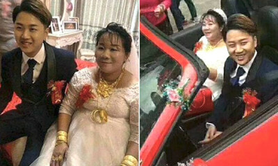 38-Year-Old Sugar-Mummy Pays Future In-Laws RM3 Million to Marry their 23-Year-Old Son - WORLD OF BUZZ