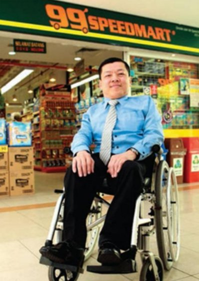 8 Inspiring Facts of 99 Speedmart's Disabled Founder Who Made It Against All Odds - WORLD OF BUZZ 3