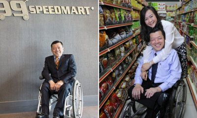 8 Inspiring Facts of 99 Speedmart's Disabled Founder Who Made It Against All Odds - WORLD OF BUZZ 7