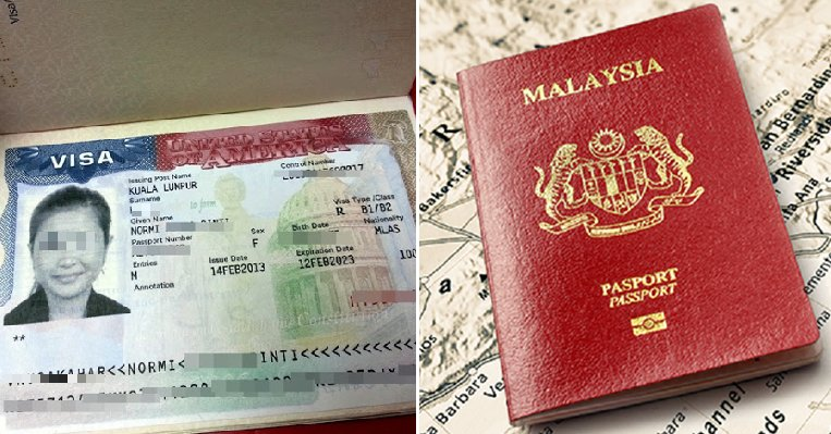 Ambassador Confirms Malaysians NOT Getting Visa-Free Travel to US Anytime Soon - WORLD OF BUZZ 2