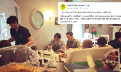 Bloggers And Social Media Influencers Are Now Banned From The White Moose Cafe & Lodge in Dublin - WORLD OF BUZZ 1