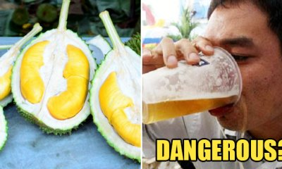 Can You Drink Alcohol After Eating Durian? Here's What We Found Out - WORLD OF BUZZ
