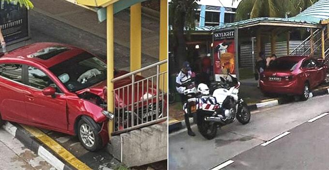 Cockroach Crawling in Car Sends Woman Crashing into Overhead Bridge - WORLD OF BUZZ